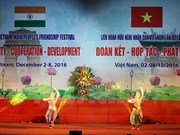 Vietnam-India friendship festival in Hanoi