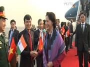 Legislative leader pays official visit to India