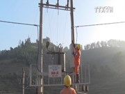 Mountainous districts access electricity before Tet