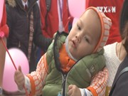 Early Christmas for disadvantaged child patients