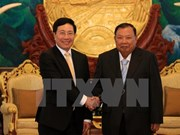 Vietnam, Laos beef up bilateral ties