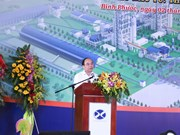 PM kicks start construction of Minh Tam Cement Plant
