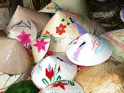 Hanoi boasts conical hat making village