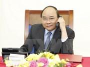 Vietnam, RoK leaders hold phone talks