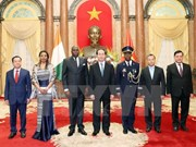 President welcomes newly-accredited ambassadors