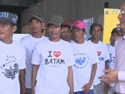 Indonesia returns 165 Vietnamese fishermen ahead of Tet