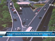 HCM City builds flyovers to deal with traffic jam