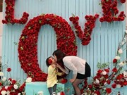 Love stories told in language of flowers