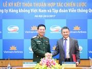 Viettel, Vietnam Airlines ink co-operation agreement