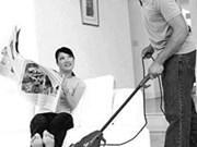 As men do housework