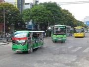 Electric buses improve tourism service