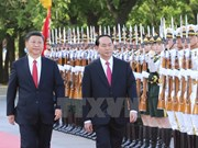 President Tran Dai Quang's activities in China