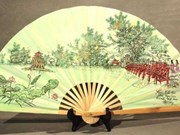 Chang Son paper fan village