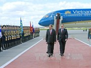 Vietnamese President starts official visit to Russia
