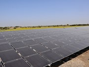 Solar-powered water supply in rural proves effective