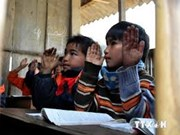 Young teachers overcome difficulties to educate mountainous kids
