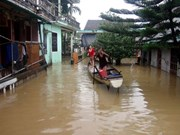 Central localities seriously flooded after storm Damrey