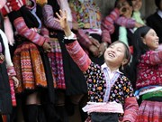 Mong ethnic people's Tet celebration showcased in Hanoi