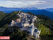 "Ba Na Hills - ""city in clouds"""