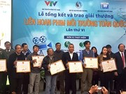 21 awards presented at national environmental film festival