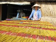 Traditional incense making in Hai Duong thrives before Tet