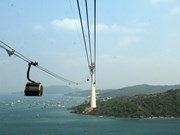 World's largest ropeway launched in Kien Giang