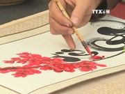 Tet calligraphy street opens in Ho Chi Minh City