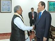President Tran Dai Quang visits Indian state of Bihar