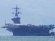 US's aircraft carrier USS Carl Vinson visits Da Nang