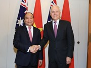 Prime Minister Nguyen Xuan Phuc welcomed in Australia