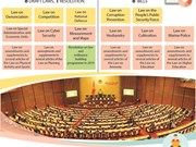 14th National Assembly's fifth session to pass eight draft laws