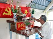 Private house of worship dedicated to President Ho Chi Minh