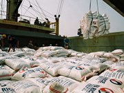 Rice export upbeat in first half