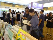 RoK book fair opens in HCM City