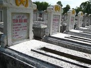 Website documents final resting places of war martyrs