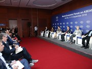 WEF on ASEAN co-chairs share views of forum