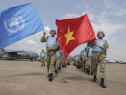 Vietnamese military doctors arrive in South Sudan for UN mission