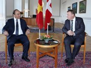 PM witnesses signing of agreements with Denmark