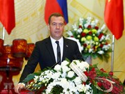 Russian Prime Minister active in Vietnam