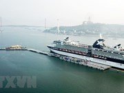 Hon Gai int'l port receives first cruise ship