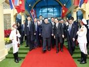 DPRK Chairman arrives in Vietnam