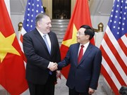 Deputy PM, FM Minh holds talks with US Secretary of State