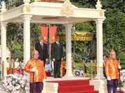 Top leader pays state visit to Cambodia