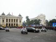 DPRK Chairman arrives in Hanoi