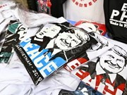 Trump - Kim T-shirts much sought after