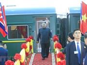 DPRK Chairman leaves Dong Dang for Ha Noi