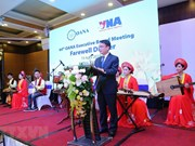 VNA hosts farewell party for OANA's delegates