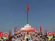 Flag-raising ceremony marks Reunification Day