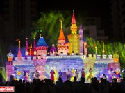 Light festival in Ho Chi Minh City