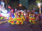 Street carnival in Da Nang city